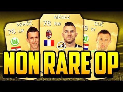 non rare players fifa 15 fifa 15 cheap overpowered non rare team fifa 15