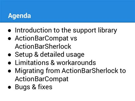 android support library android support library using actionbarcompat
