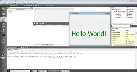 qt tutorial hello world embedded programmer windows installing qt creator