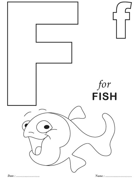 Alphabet F Coloring Pages by Preschool Alphabet Coloring Pages F Sheets