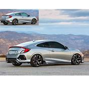 New 2017 Civic Si Coupe Render  Page 3 2016 Honda