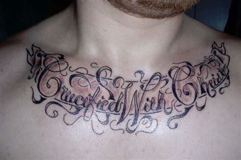 121 Awe Inspiring Chest Quotes Tattoos Chest Quote Tattoos For