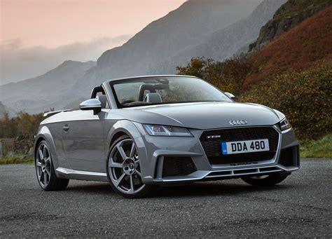 Audi Tt Rs Roadster audi tt rs roadster review 2016 parkers