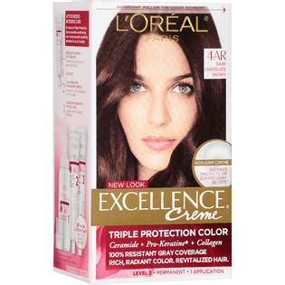 l oreal excellence creme pro keratine protection color 6rb light reddish brown ebay l oreal excellence creme pro keratine 4ar chocolate brown warmer by for unisex