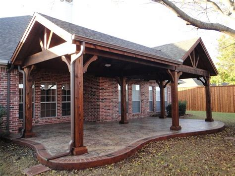 Patio Cover Designs Gable Patio Covers Gallery Highest Quality Waterproof Patio Covers In Dallas Plano And