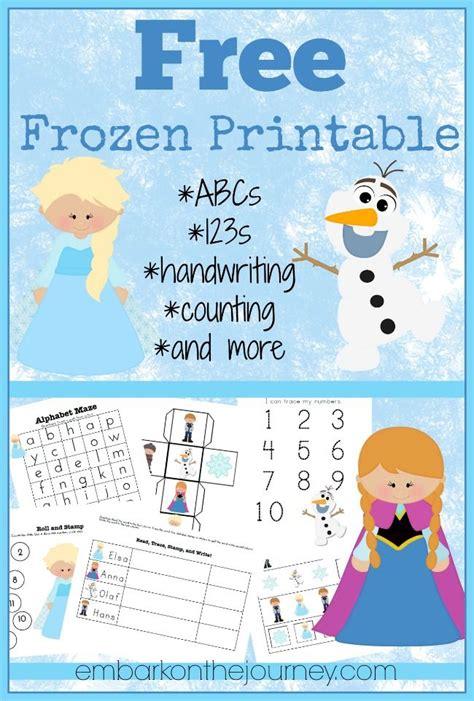 printable frozen theme free frozen printable frozen printable free