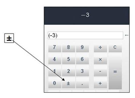 Calculator Negative | unit 5 numbers everywhere 5 2 9 calculator exploration