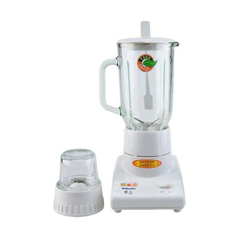 Blender Miyako Kaca jual miyako bl 101 gs blender kaca 1 ltr 2in1