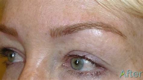 tattoo eyebrows on blondes permanent eyebrows they re not just for women