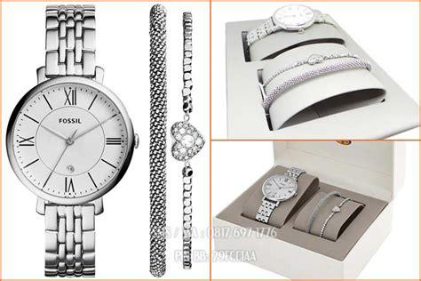 Jam Tangan Bonia Silver Set Gelang Hadiah jam wanita original fossil es3698set katalog jam tangan fossil