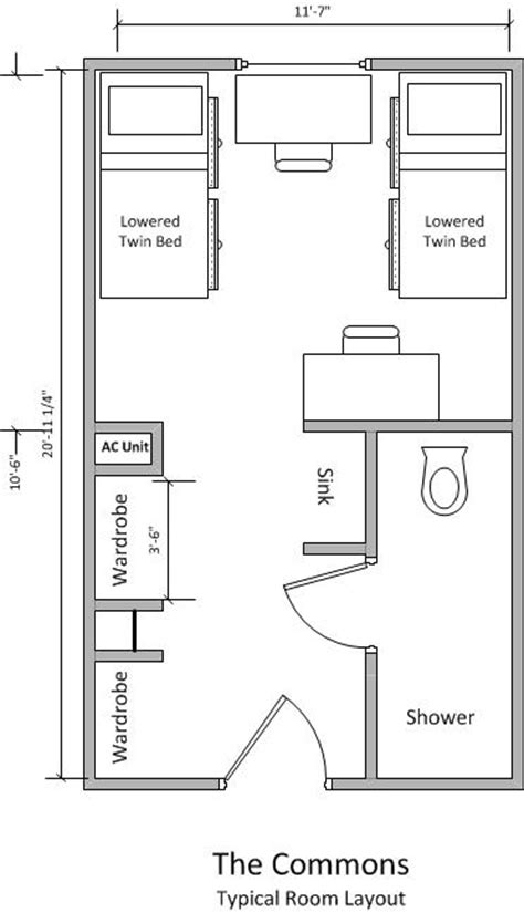 university commons chicago floor plans student housing housing locations the residential