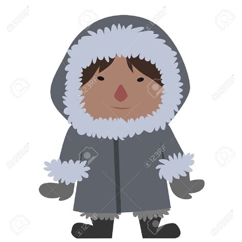 eskimo clipart eskimo clipart pencil and in color eskimo