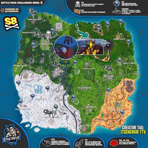fortnite cheat sheet map  season  week    find