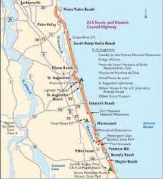 map of a1a in south florida jaxpop cruisin highway a1a
