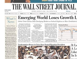 wall street journal review section title nr pat s picks