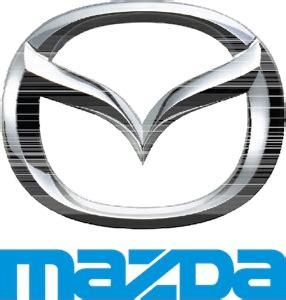 logo de mazda mazda logo vectors free