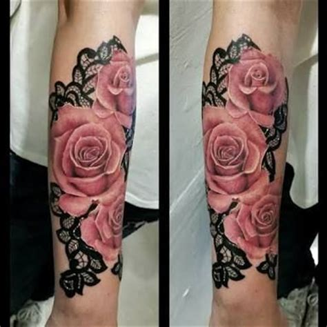 lace and rose tattoo 17 best ideas about mandala on