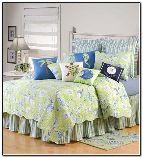 beach themed coverlets beach themed bedding quilts beds home design ideas