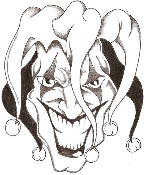wicked clown tattoo designs 25 best ideas about jester on evil