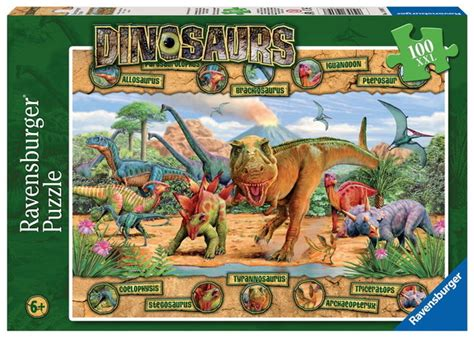 Best Terlaris Puzzle Jigsaw From Tomorrow 100 Pcs Sni ravensburger 100 jigsaw puzzle dinosaurs at mighty ape australia