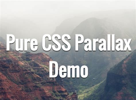 css scrolling div css parallax scrolling effect css script