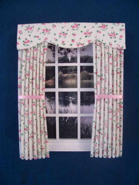 how to make dolls house curtains 1000 ideas about doll house curtains on pinterest diy