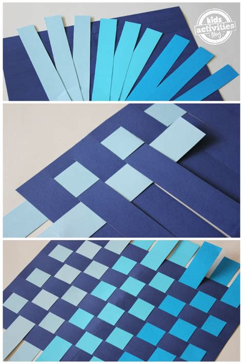 How To Make A Paper Basket Weave - paper weaving on weaving projects weaving