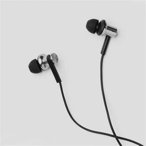 Headset Earphone Master Mega Bass Plus Mic xiaomi mi in ear headphones pro silver black