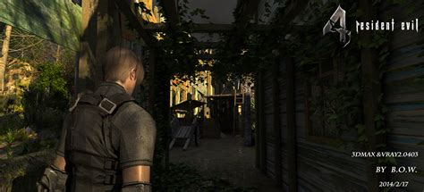 Or Remake Resident Evil 4 Remake For 3dmax By Bowu On Deviantart
