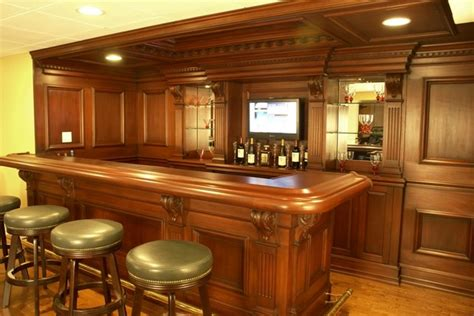 Residential Bars Residential Bars Traditional New York By Wl Interiors