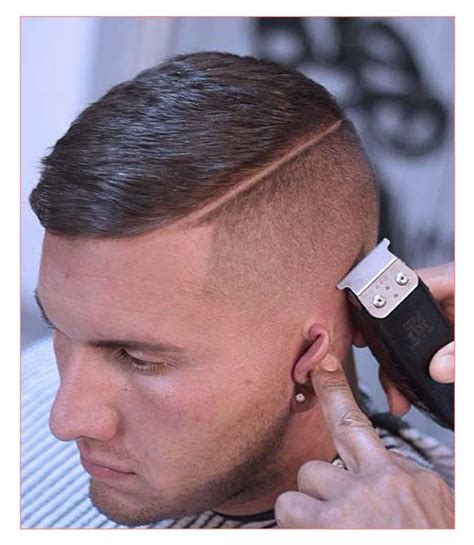 shaved back and sides haircut mens hairstyles short back and sides long on top also mens
