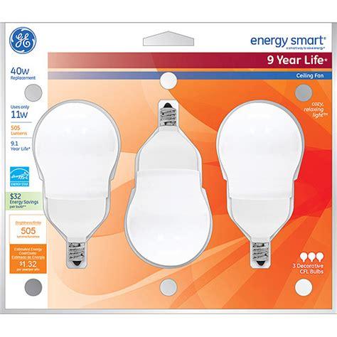 ge energy smart cfl ceiling fan bulb walmart com