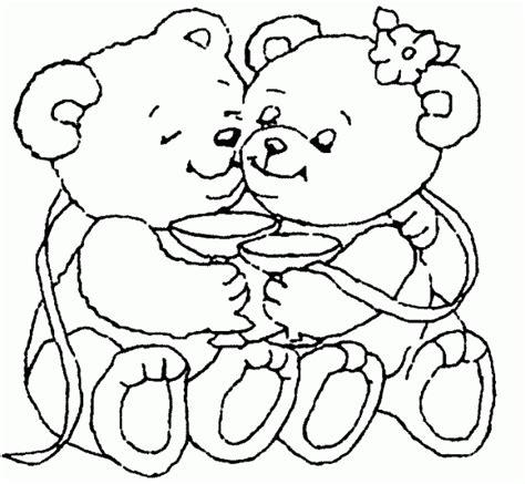 dibujos de navidad para colorear de ositos ositos de amor dibujos para colorear colorear im 225 genes