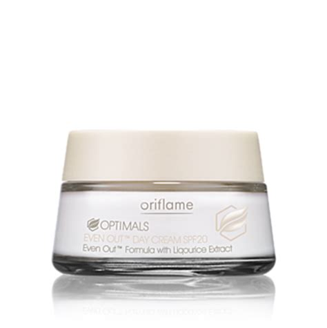 Optimals Even Out Skin Care By Oriflame talks oriflame optimals even out day spf 20