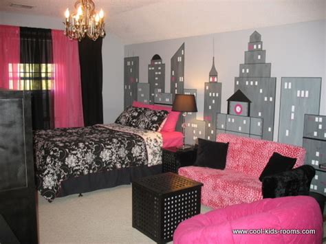 black and pink bedroom ideas black white and pink modern girls bedroom