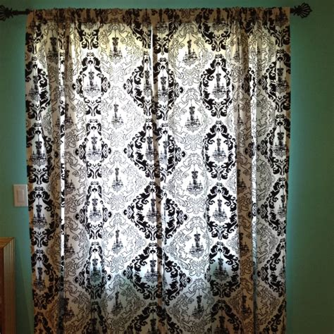 chandelier curtains target black and white chandelier curtains curtain