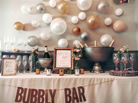 party tips diy bubbly bar party ideas