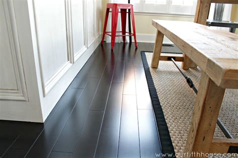 our fifth house how to clean dark wood floors