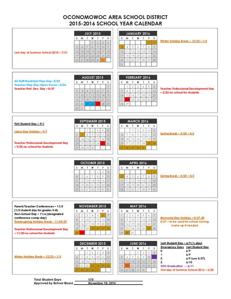 Broward County Schools Calendar 2015 16 2015 16 School Year Calendar Pictures To Pin On