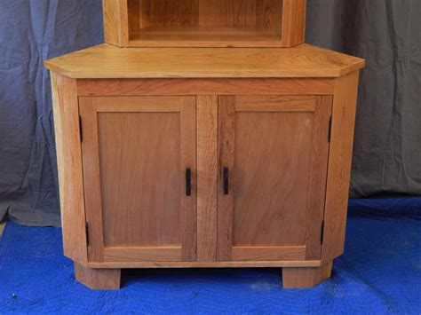 Cabinet Lonch by Cherry Corner Cabinet Finewoodworking
