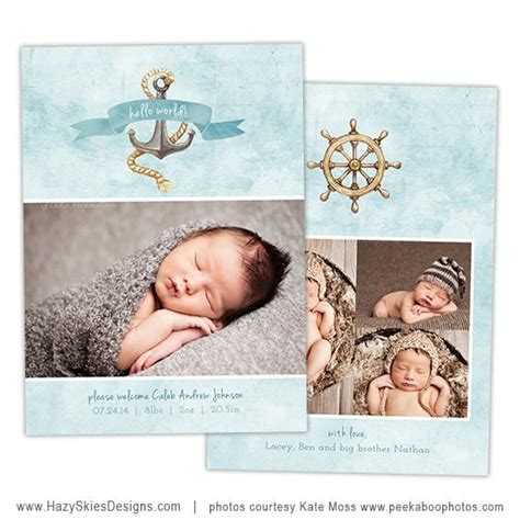 photoshop templates for birth announcements birth announcement templates watercolor