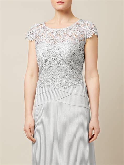 Kaos Umbro Top Product Nggifa jacques vert lace top plisse maxi dress in gray lyst