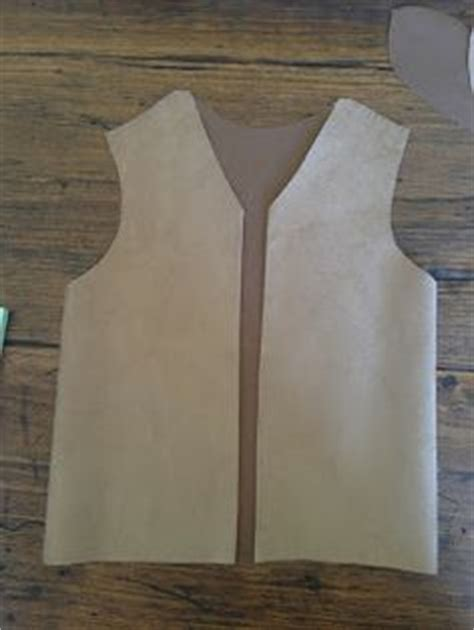 How To Make A Paper Bag Vest - house on 31 diy no sew cowboy costume only i d use