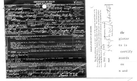 Birmingham Birth Records Birmingham Al Certificates