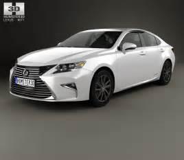 lexus es hybrid 2015 3d model humster3d