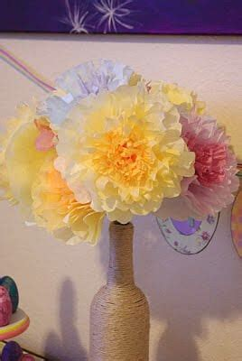 coffee filter flowers tutorial happiness  homemade