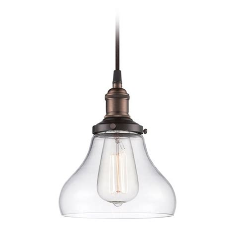 mini pendant light with clear glass 60 5503