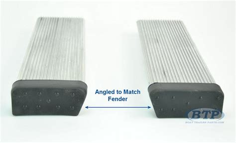 aluminum boat trailer round fender mount and step pad pair aluminum boat trailer round fender mount and step pads