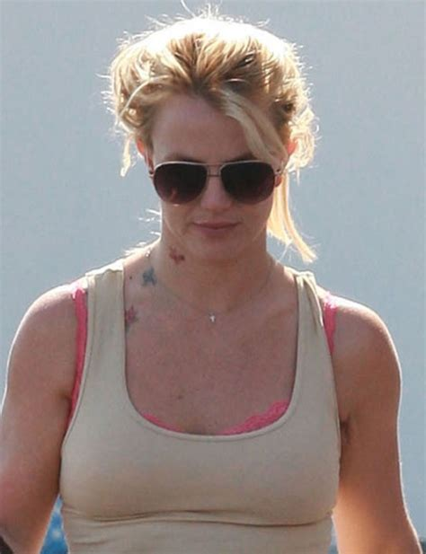 britney spears tattoos neck tattoos were