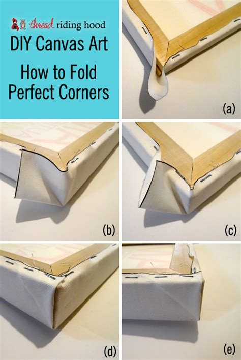 upholstery how to do corners diy canvas art or how to stretch a canvas with perfect